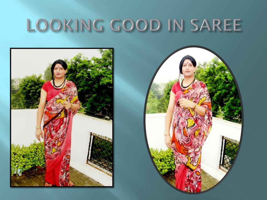 LOOKING GOOD IN SAREE