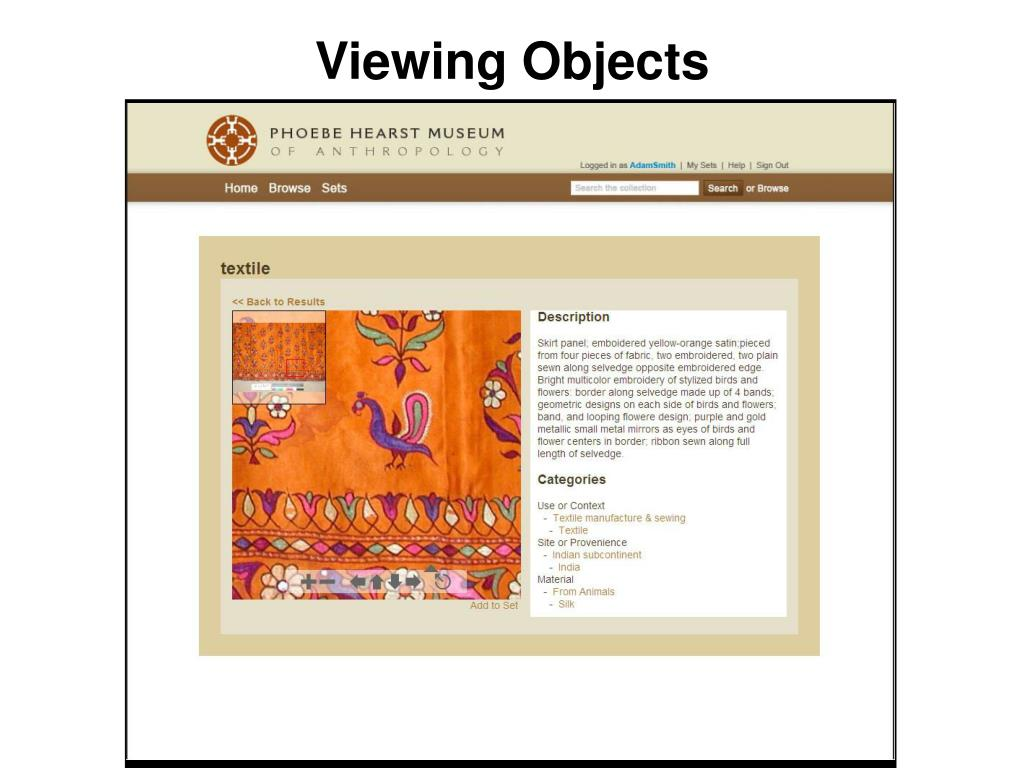 Viewing Objects