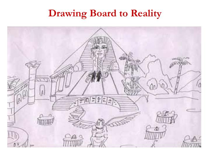 Drawing Board to Reality