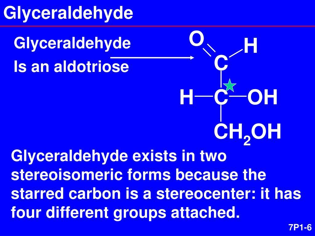 Glyceraldehyde