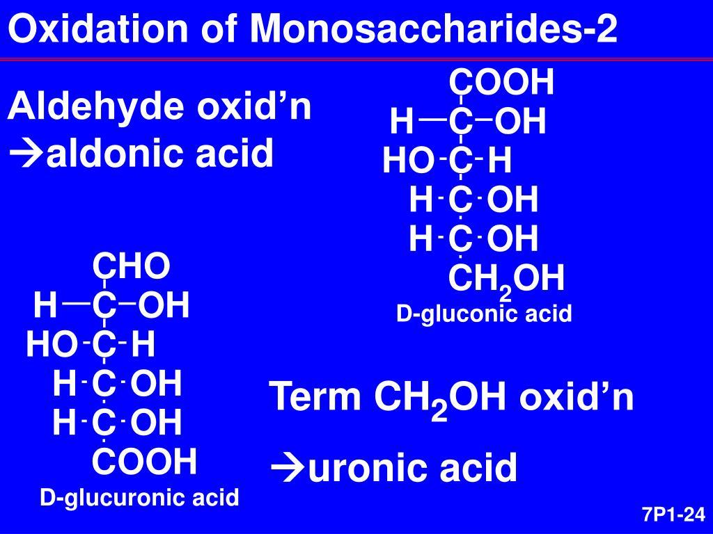 Oxidation of Monosaccharides-2
