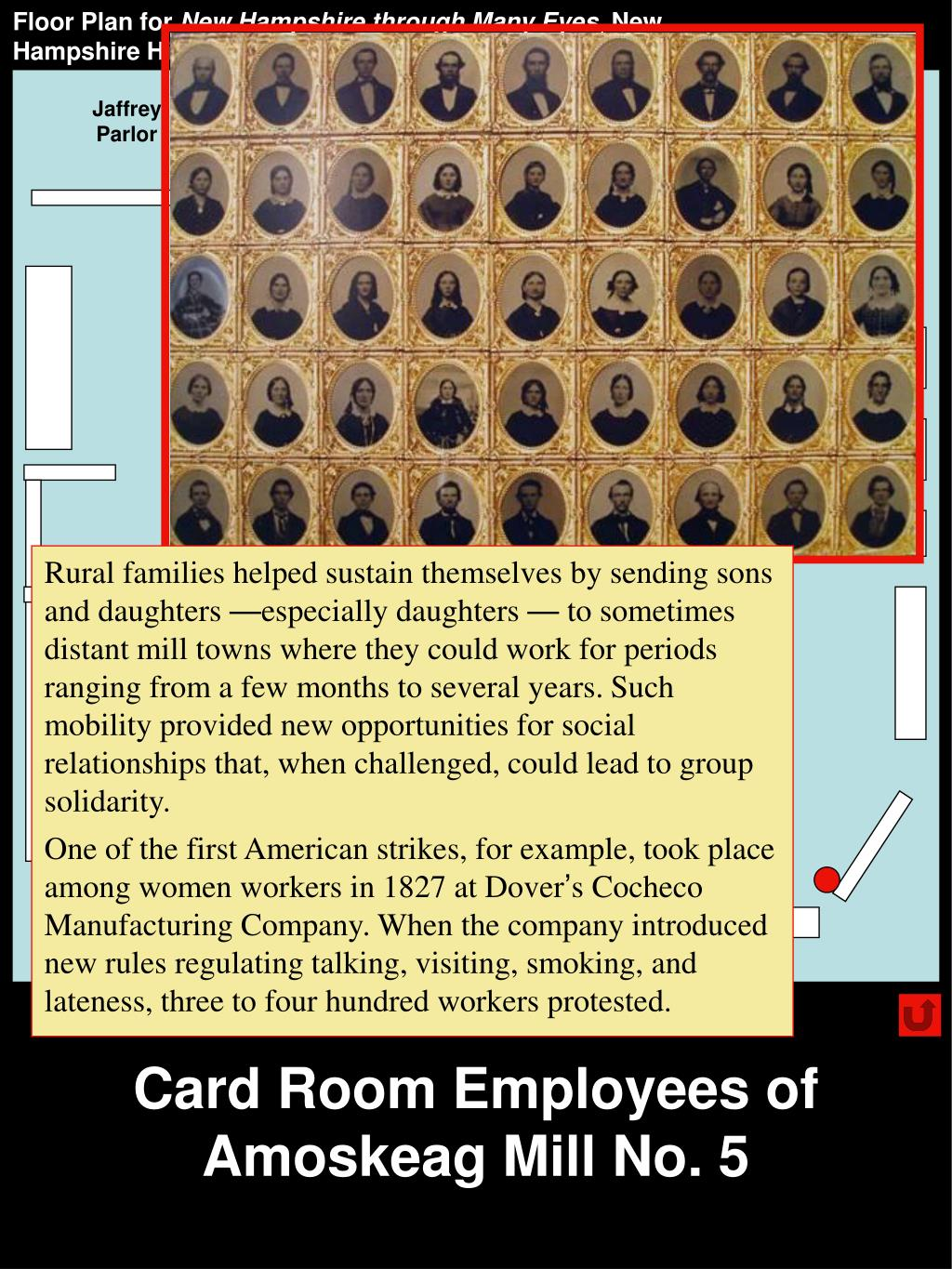 Card Room Employees of Amoskeag Mill No. 5