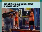 what makes a successful collaboration