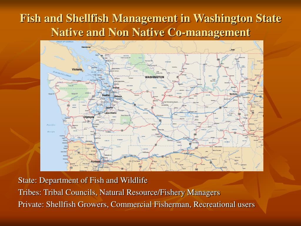 Fish and Shellfish Management in Washington State