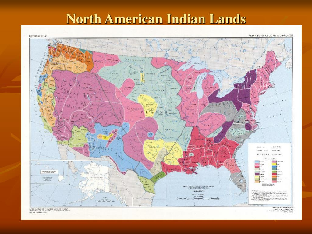North American Indian Lands