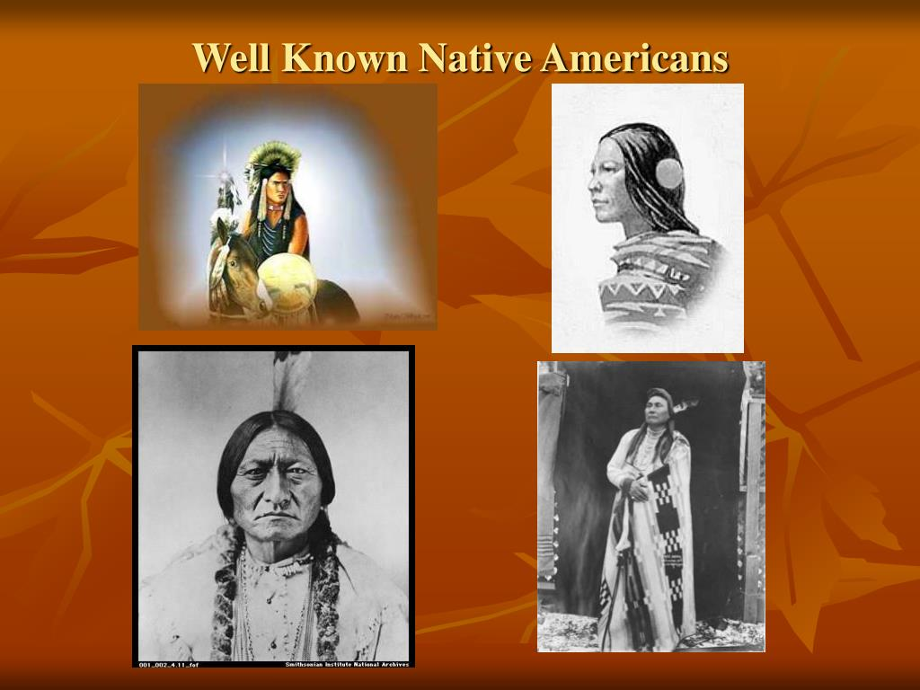 Well Known Native Americans