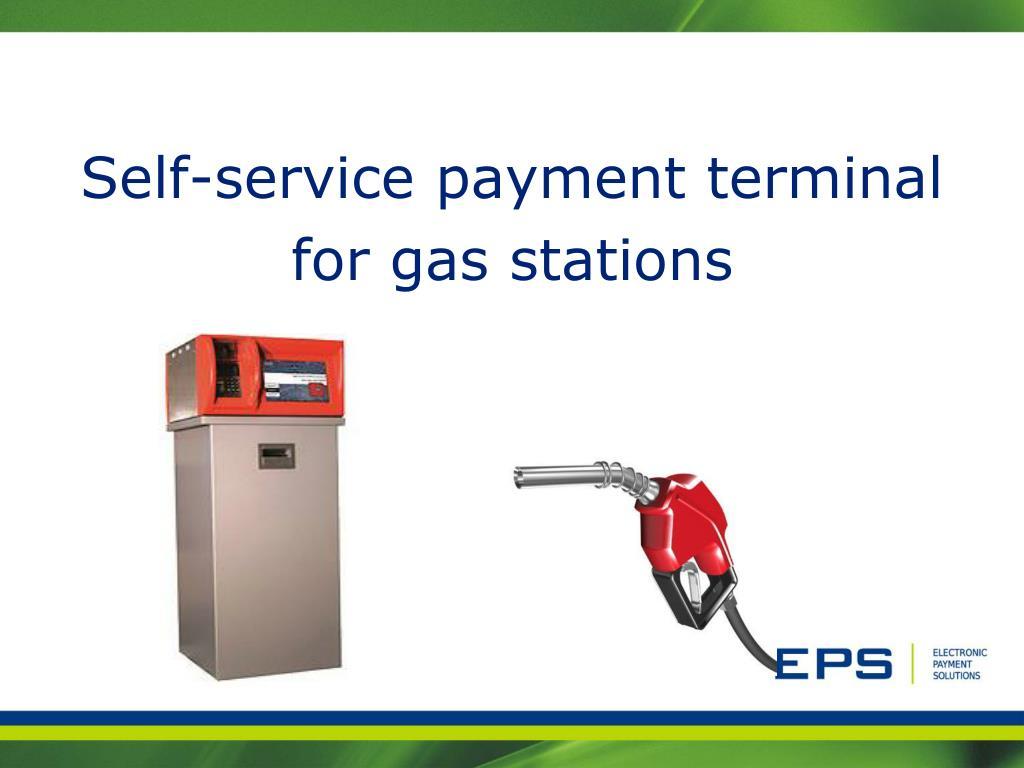 Self-service payment terminal