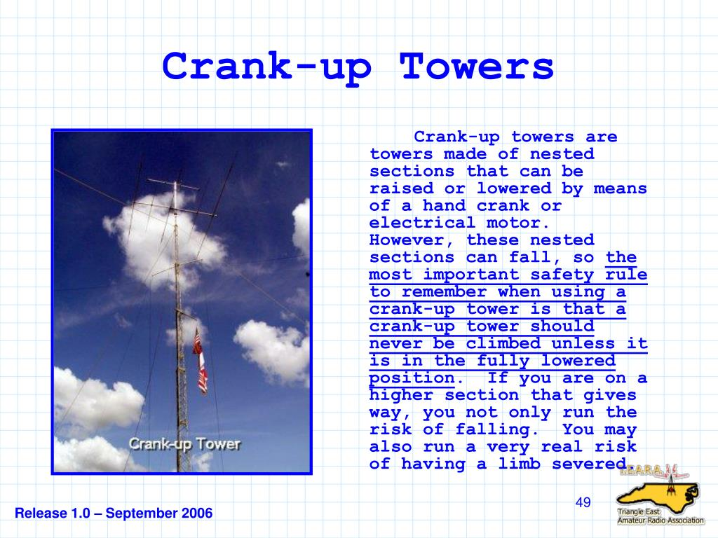 Crank-up Towers