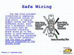 safe wiring