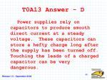 t0a13 answer d