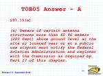t0b05 answer a