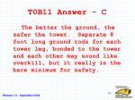 t0b11 answer c