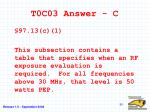 t0c03 answer c