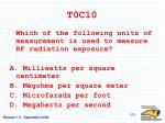 t0c10