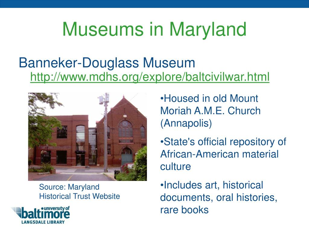 Museums in Maryland