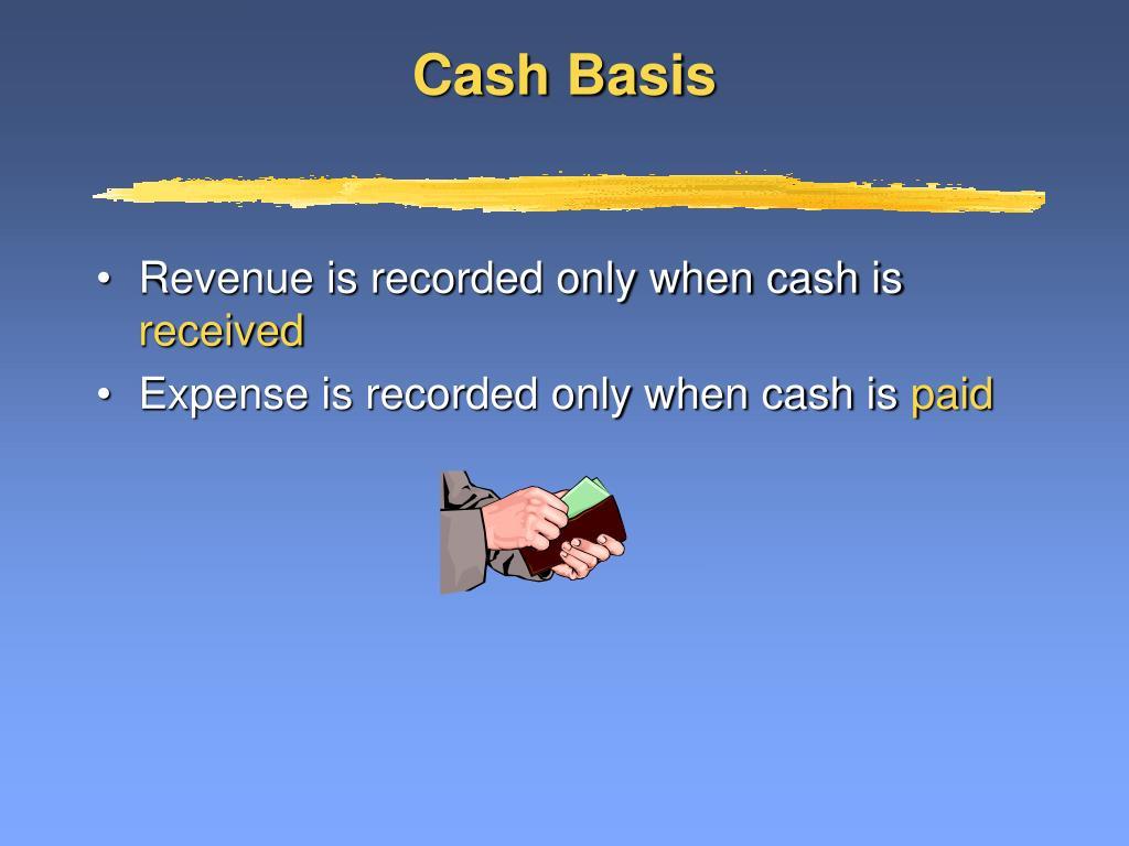 Cash Basis