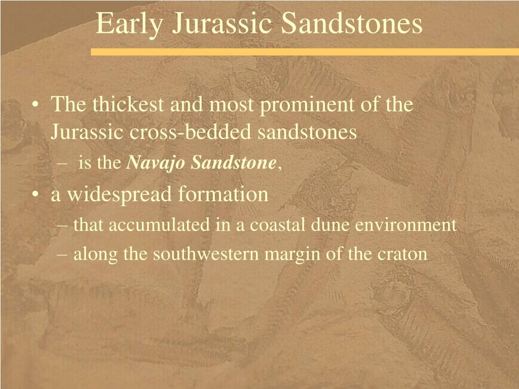 Early Jurassic Sandstones