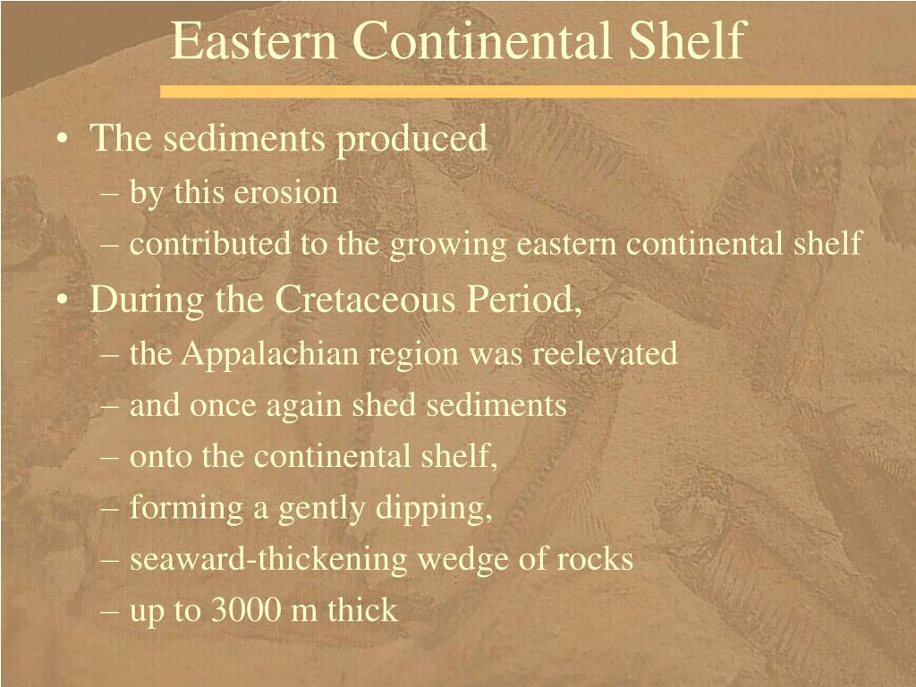 Eastern Continental Shelf