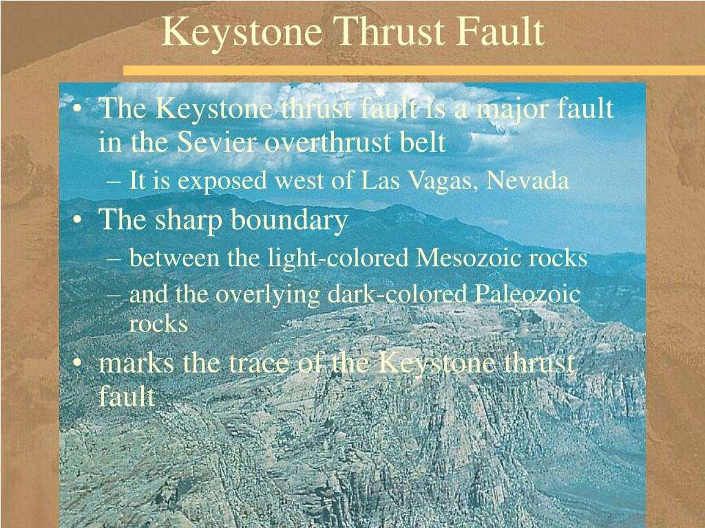 Keystone Thrust Fault