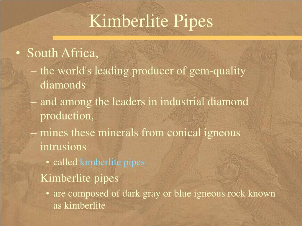 Kimberlite Pipes