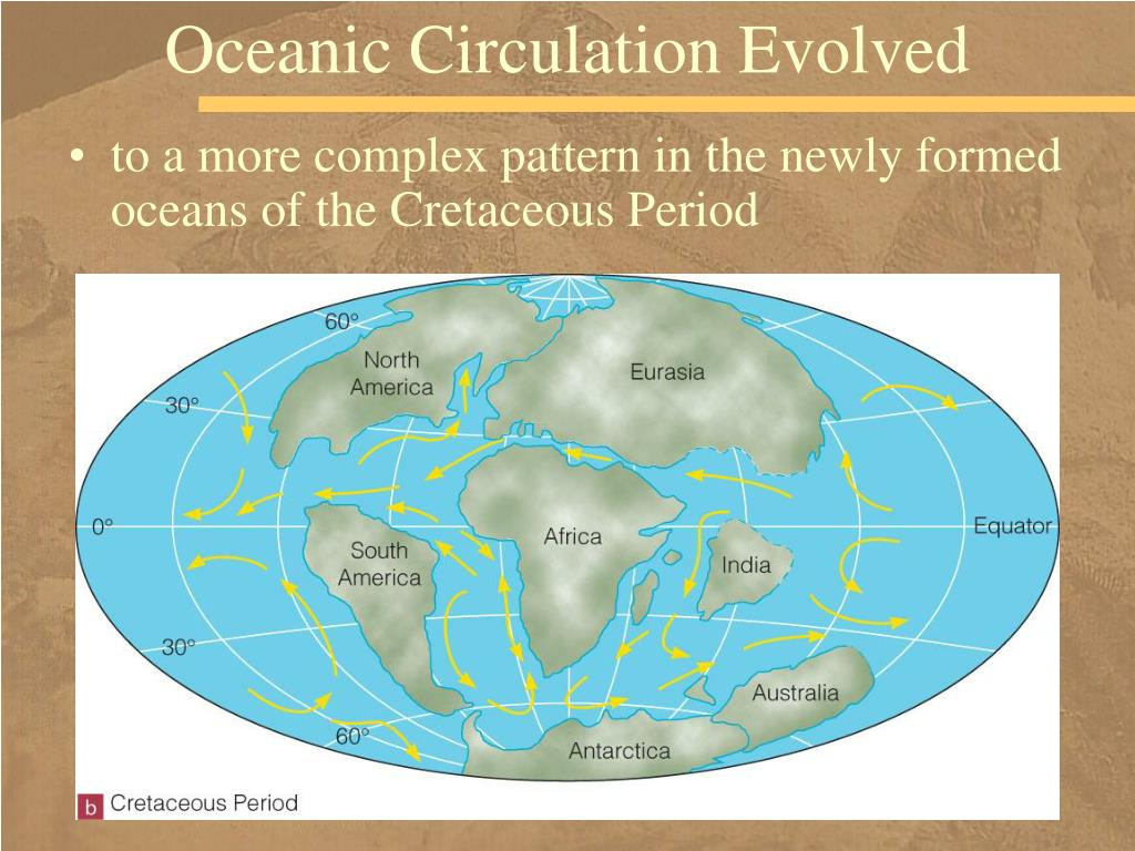 Oceanic Circulation Evolved