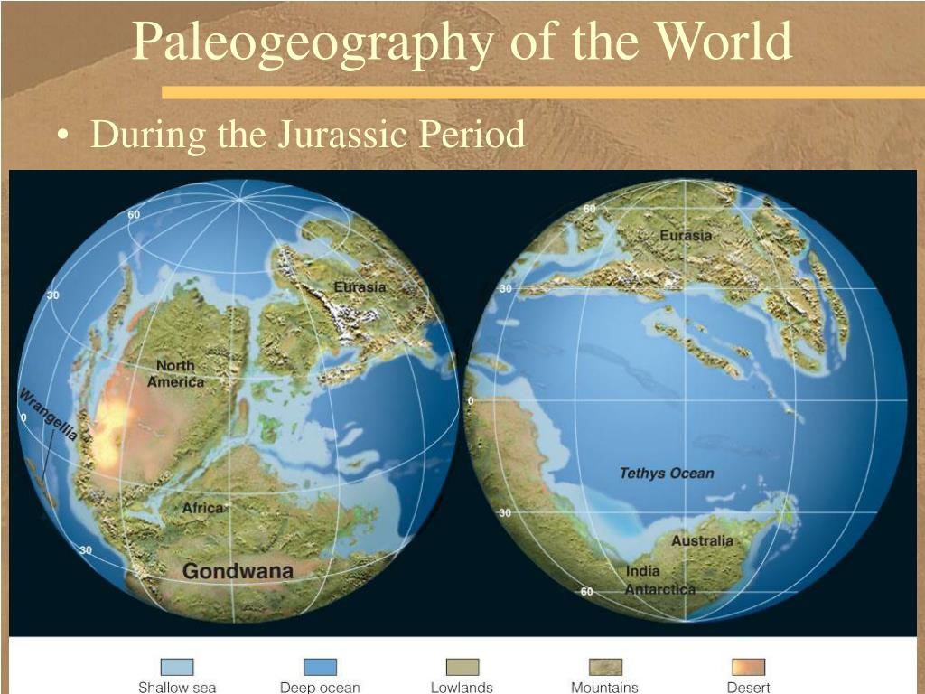 Paleogeography of the World