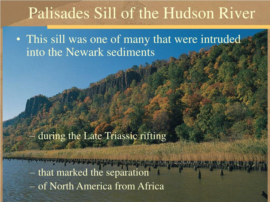 Palisades Sill of the Hudson River