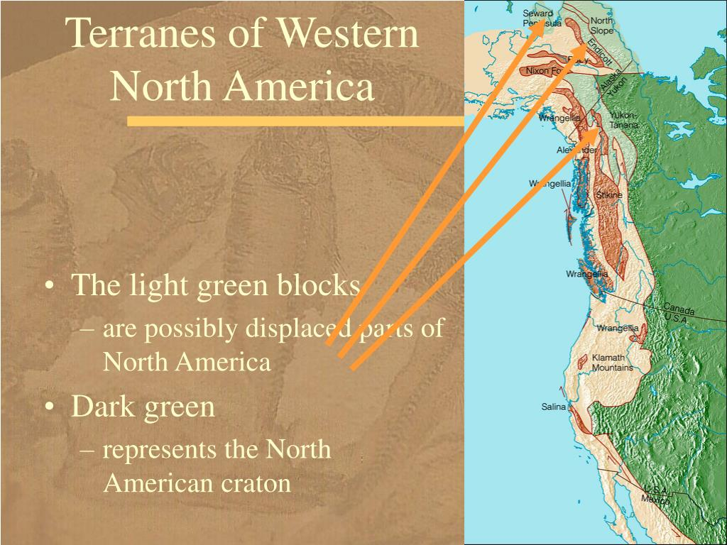 Terranes of Western North America