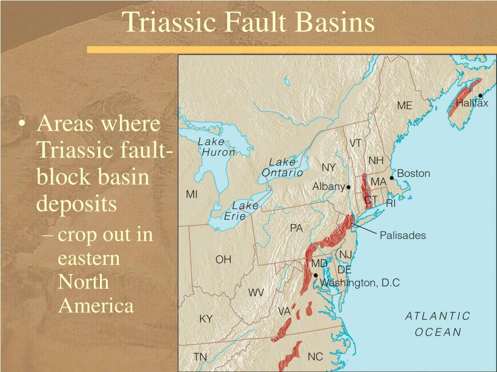 Triassic Fault Basins
