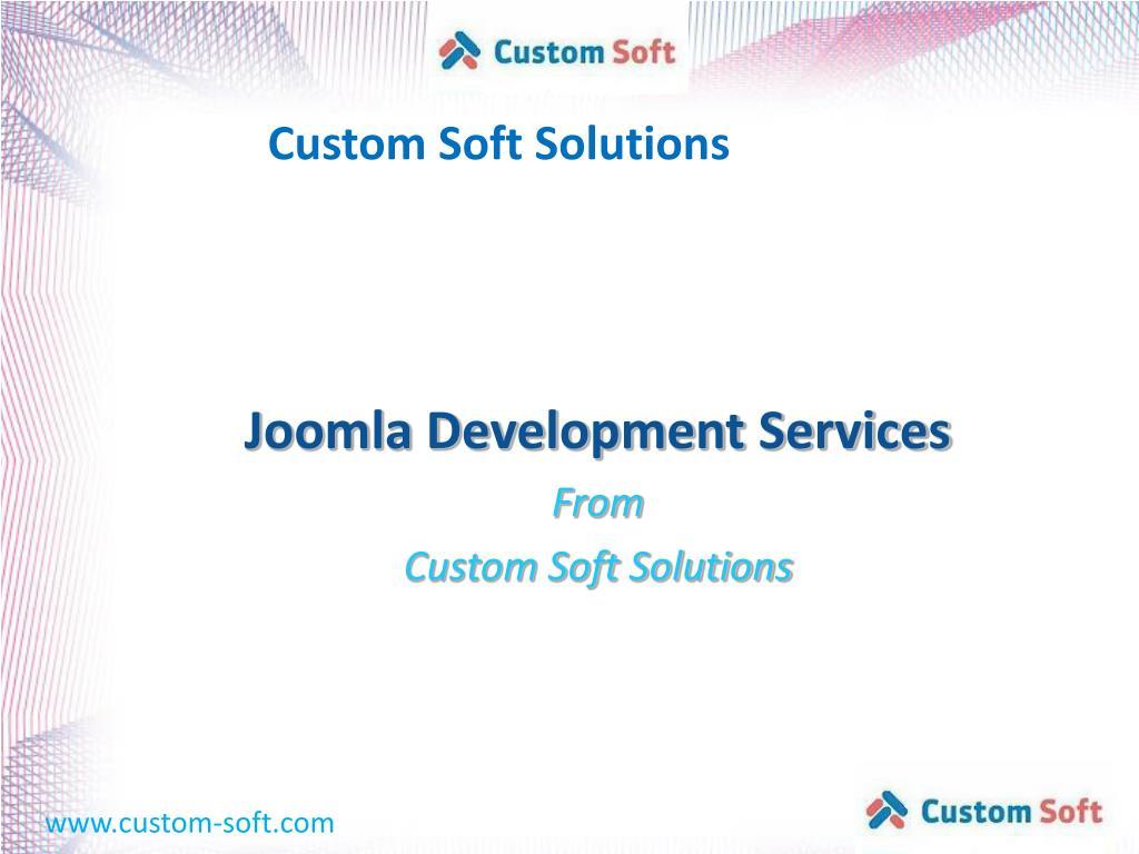 Custom Soft Solutions