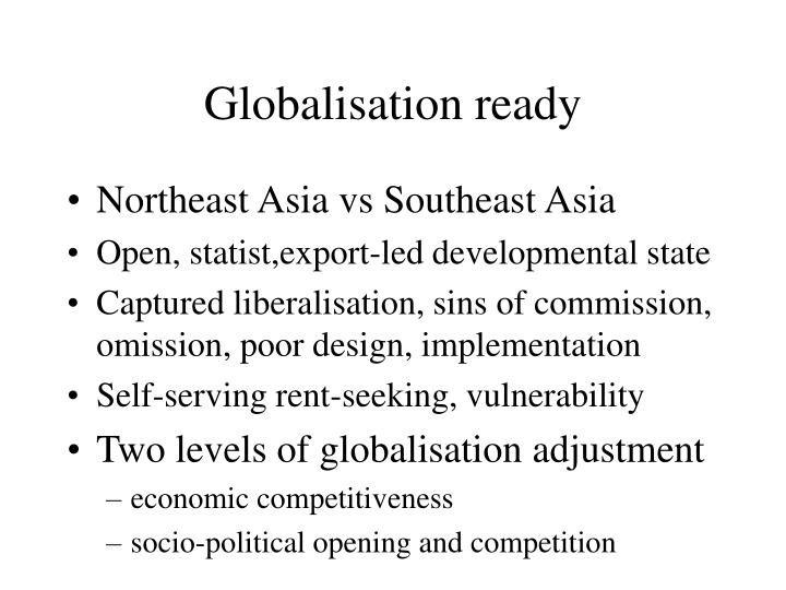 Globalisation ready