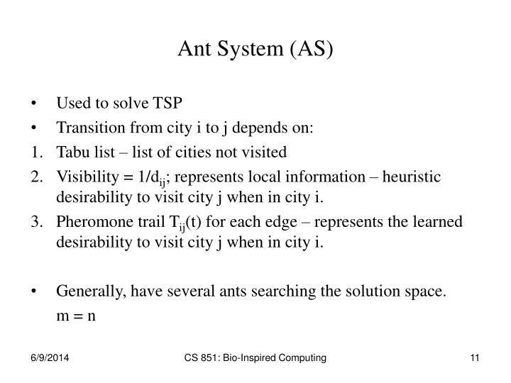 Ant System (AS)