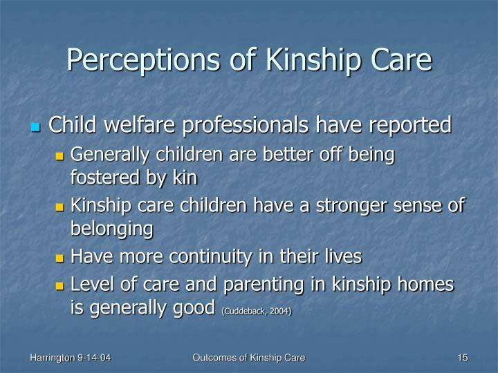 Perceptions of Kinship Care