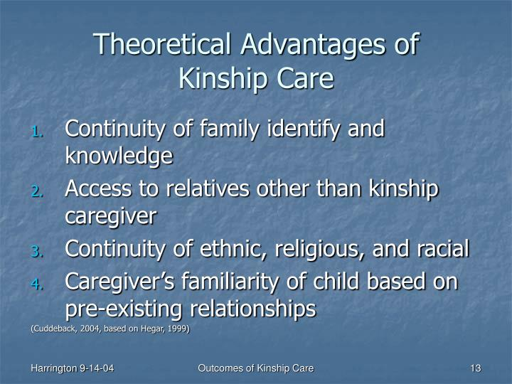 Theoretical Advantages of