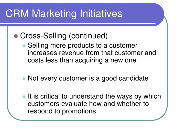 Crm marketing initiatives3