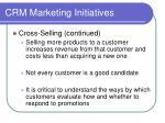 crm marketing initiatives3