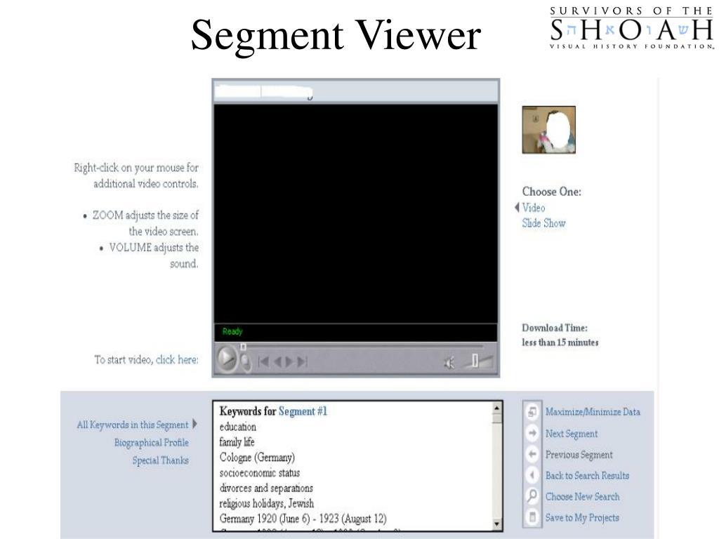 Segment Viewer