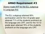 amao requirement 3110