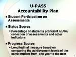 u pass accountability plan