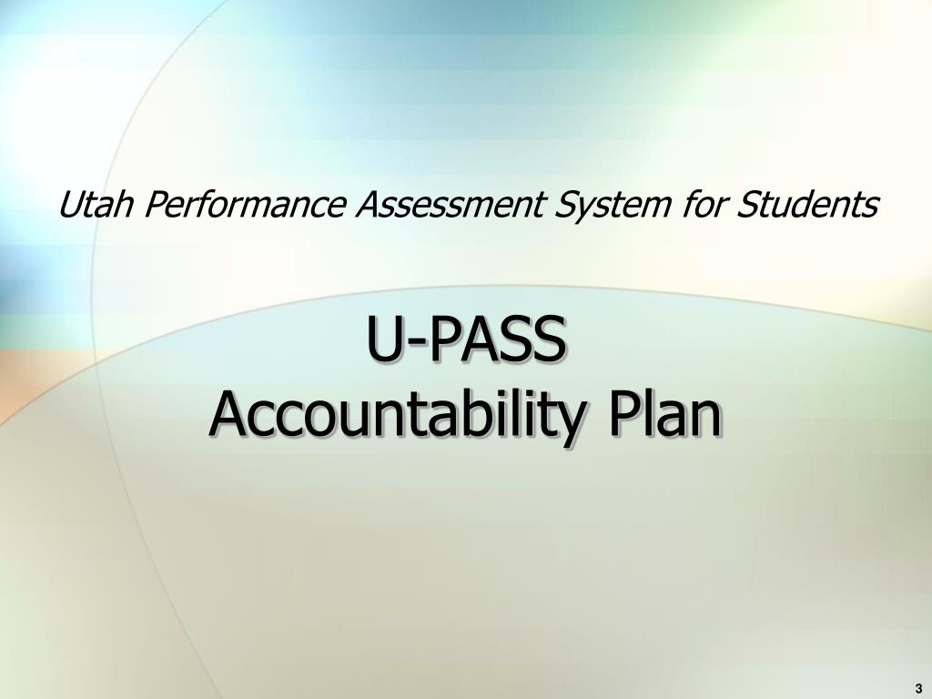 Utah Performance Assessment System for Students