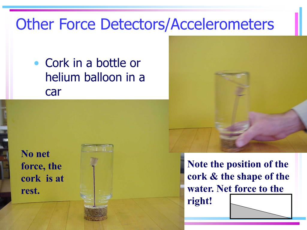 Other Force Detectors/Accelerometers