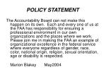 policy statement5