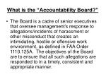 what is the accountability board