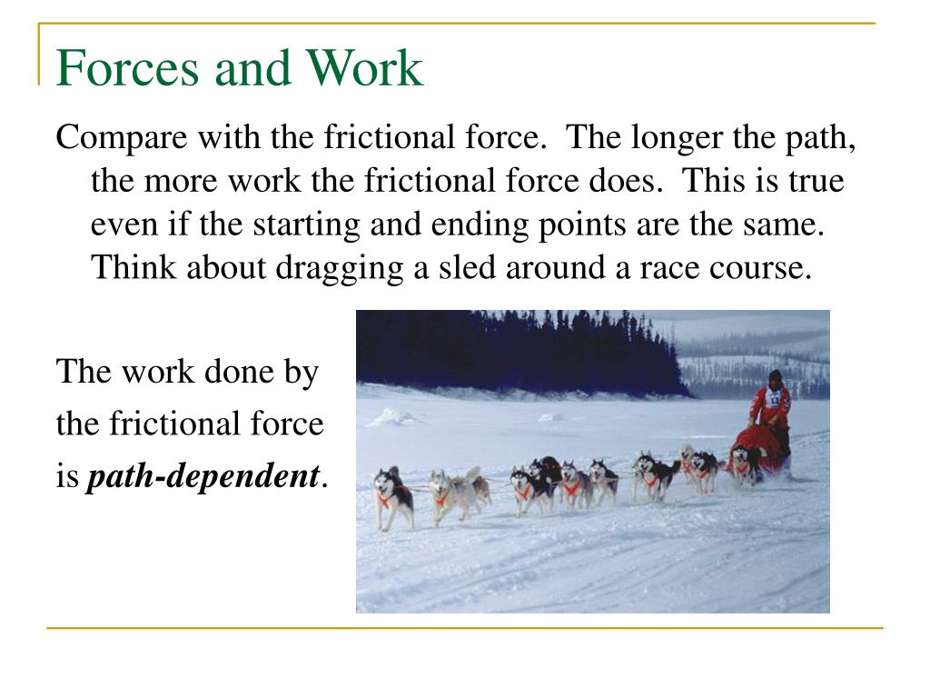 Forces and Work