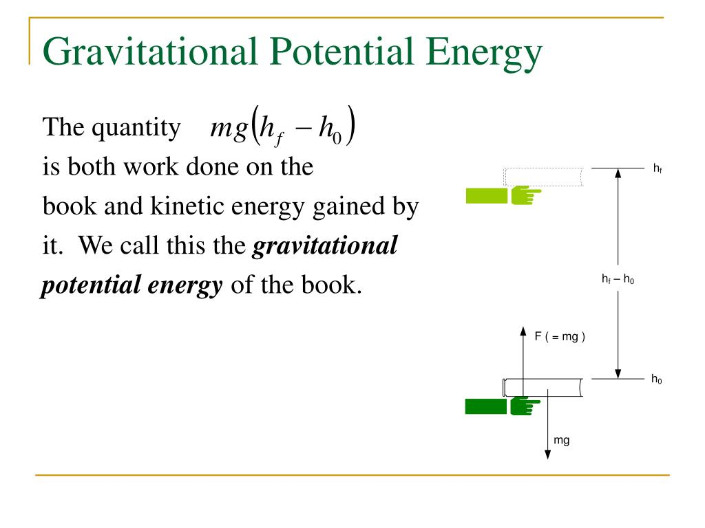 potential energy Potential energy can be thought of as energy stored within a physical system it is called potential energy because it has the potential to be converted into other forms of energy, particularly kinetic energy, and to do work in the process the standard (si) unit of measure for potential energy is.