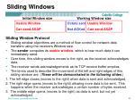 sliding windows21
