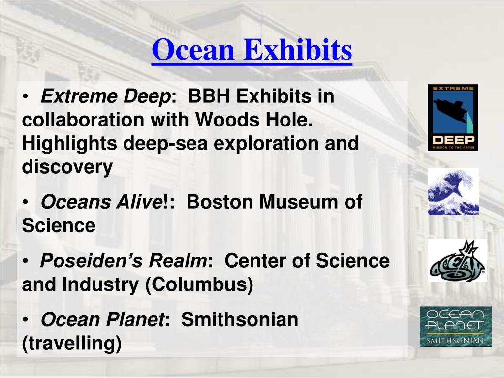 Ocean Exhibits