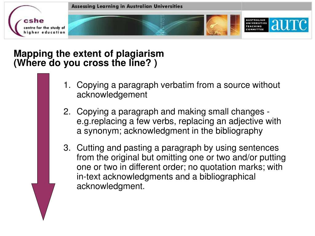 Mapping the extent of plagiarism