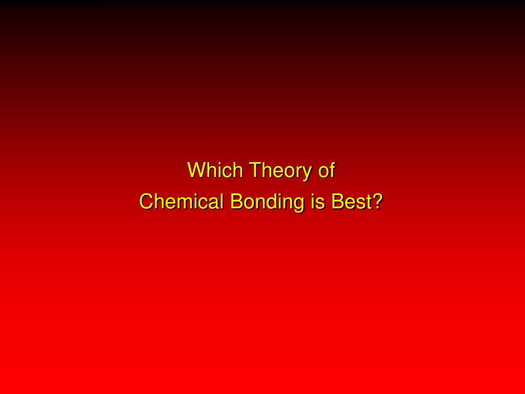Which Theory of