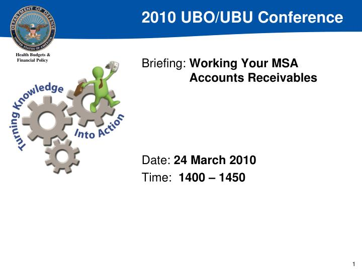 Briefing working your msa accounts receivables